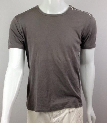CAMISETA COM ZÍPER ARMANI EXCHANGE