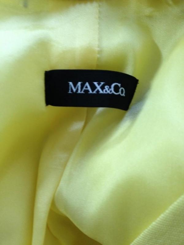BLASER AMARELO MAX&CO