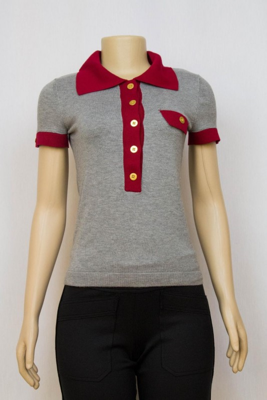 TRICOT POLO BICOLOR MIXED