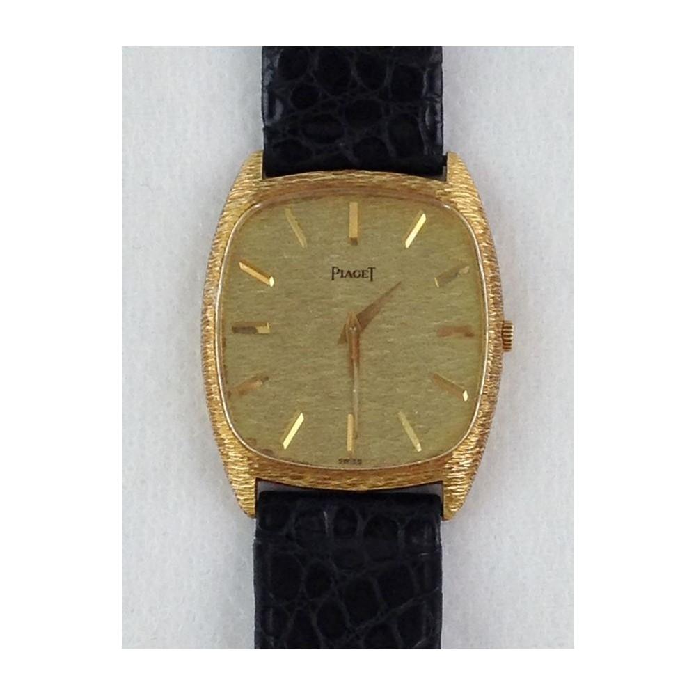 3bf04284bea Relogio De Ouro Vintage - Piaget - Relogios E Bijoux