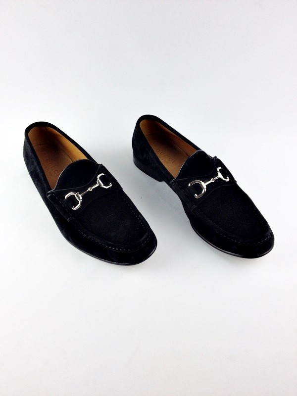 b0d87aa7b Sapato De Camurca - Gucci - Masculino - Sapatos