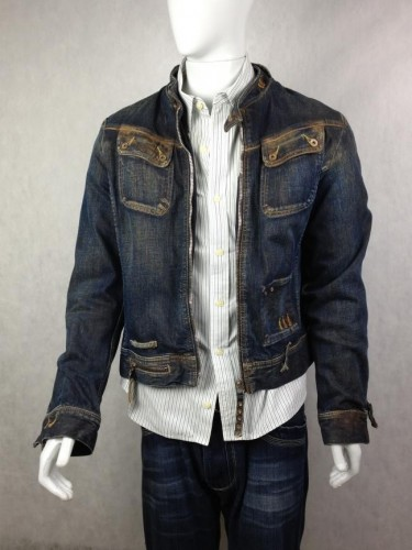 JAQUETA JEANS STONED DIESEL
