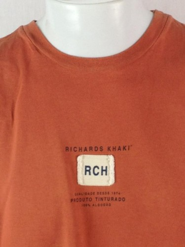 CAMISETA FERRUGEM RICHARDS