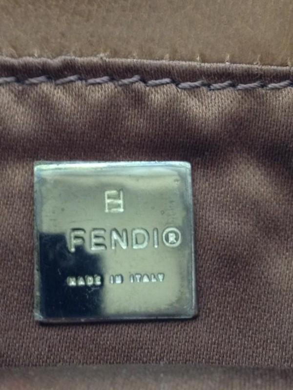 FENDI MINI BAGUETTE BEADED EVENING BAG