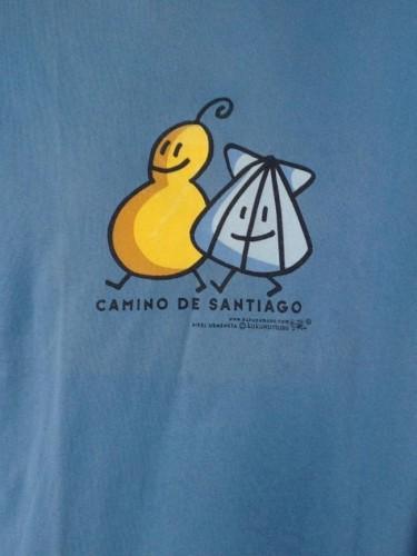 CAMISETA CAMINHO DE SANTIAGO