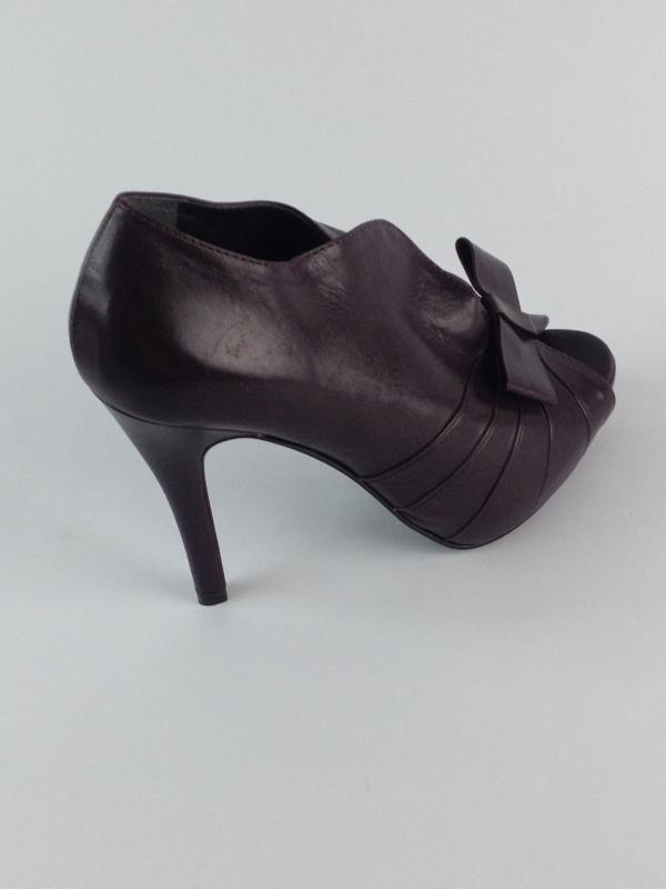 dac098dab Peep Toe Marrom Cafe - Emporio Naka - Feminino - Sapatos - Sandalias