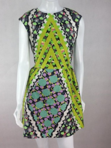 VESTIDO ESTAMPADO PETER PILOTTO