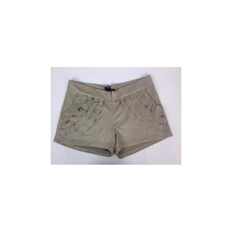 Shorts de babado
