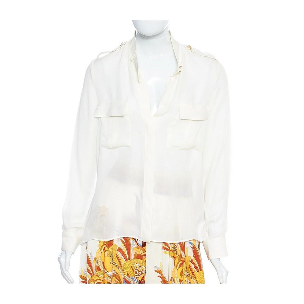 diseño profesional imágenes oficiales zapatos clasicos Camisa De Seda Zara - Zara - Camisas femininas