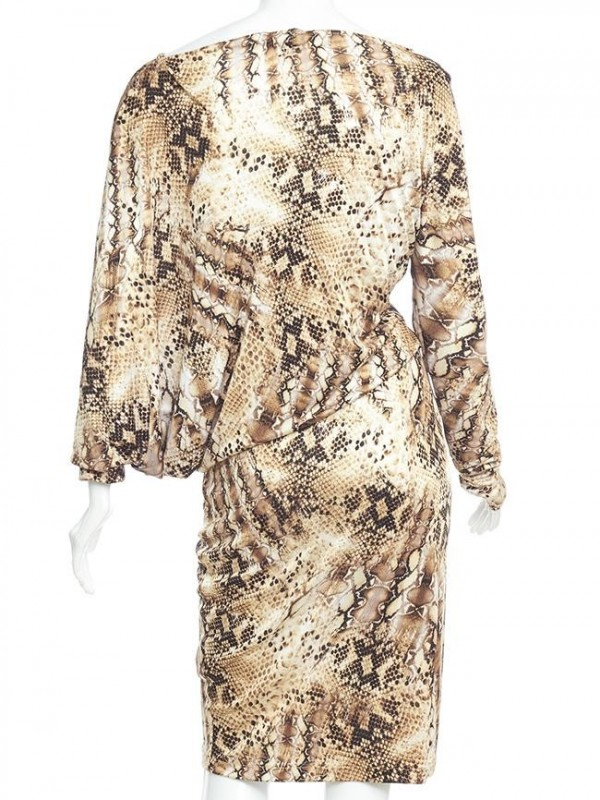 VESTIDO BY MARCIANO ANIMAL PRINT