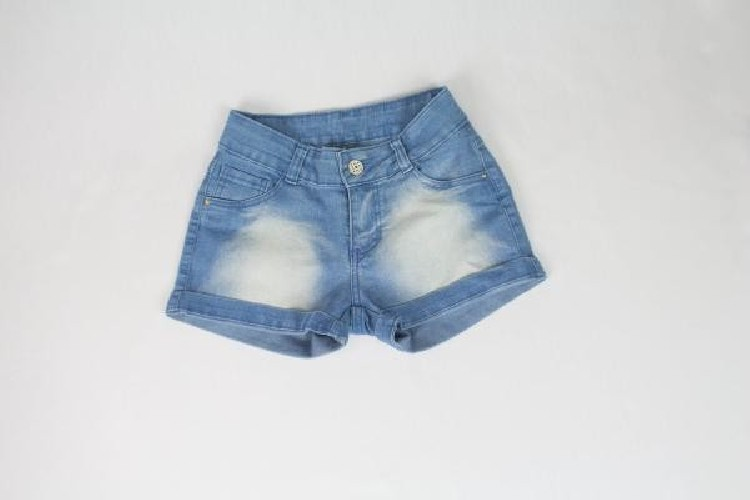 SHORTS JEANS CHICOTE JEANS