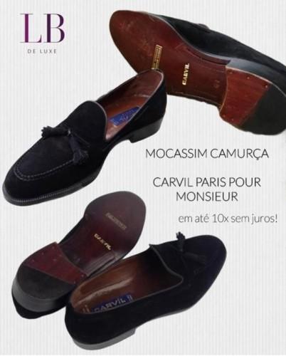 MOCASSIM DE CAMURÇA CARVIL PARIS POUR MONSIEUR