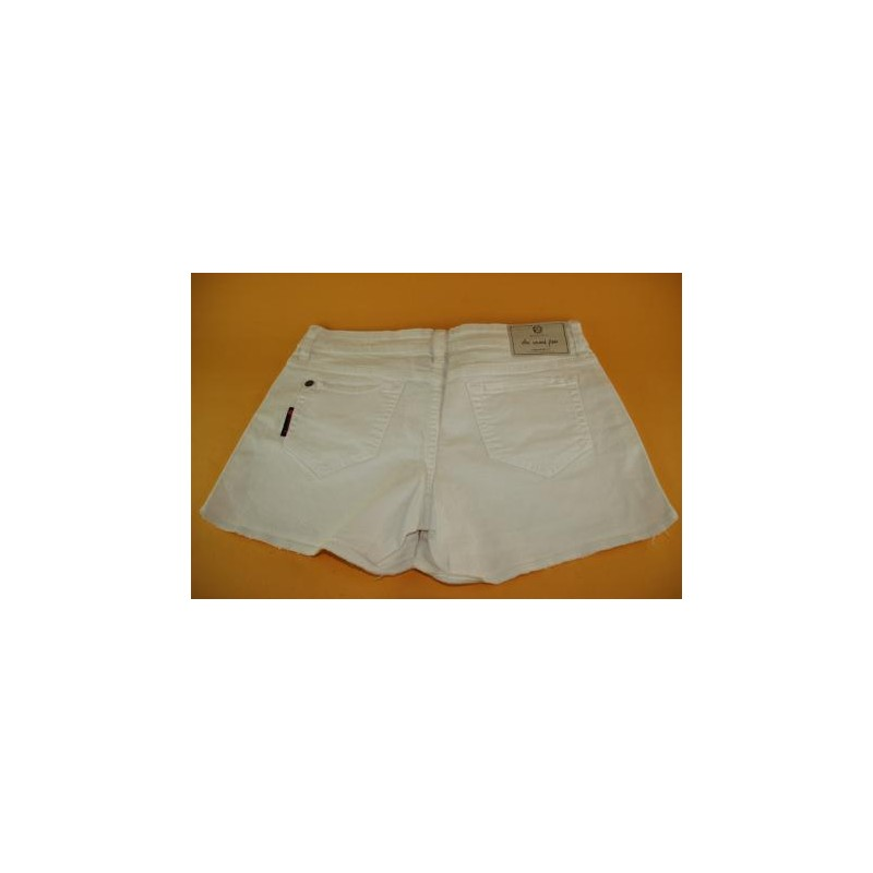 SHORTS JEANS BRANCO ELLUS SECOND FLOOR